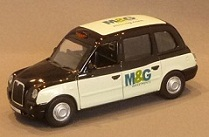Branded Die Cast London Taxi