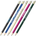 Pencils with logo on