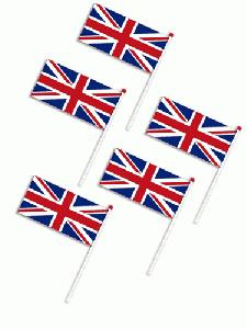 Printed Flags for Queen's Diamond Jubilee