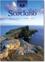 Scottish calendar with logo