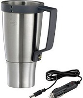 Travel Mug with Car Adapter
