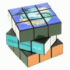 Logo Branded Rubik's Cube