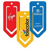 Jumbo paper clips with logo
