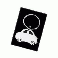 Car Shaped Keyring With Logo