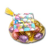 Branded Chocolate Mini Eggs In A Net