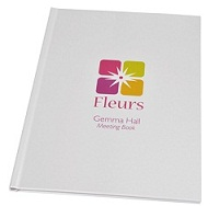 Customised Branded Meeting Books
