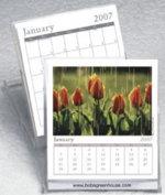 Custom CD calendar