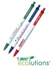 Custom Bic Eco Pens with Logo