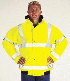 Imprinted Hi Vis Safety Jackets