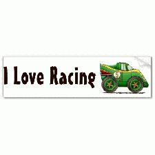Personalised Car Bumper Stickers