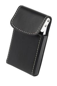 Black PU Business Card Holder
