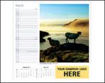 Personalised 2022 wall calendar