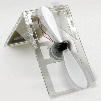 Solar Powered Desk Fan Kit