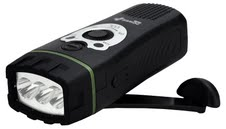 POWERPlus Wolf: Dynamo/USB powered LED Flashlight